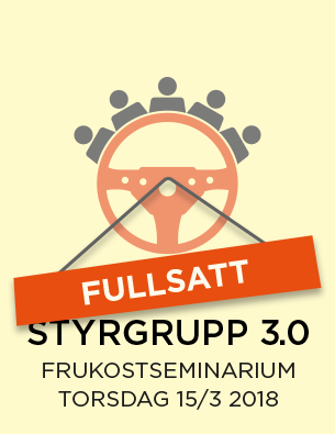 Styrgrupp 3.0 - fullsatt!