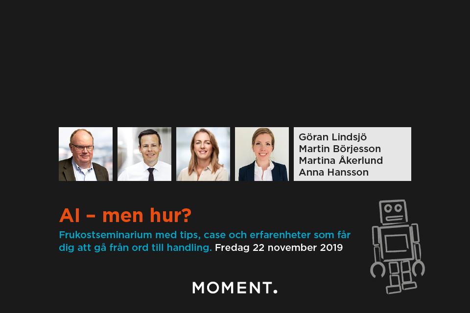 AI - men hur?