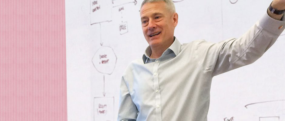 Anders Eklund föreläser i Litauen om förändringsledning