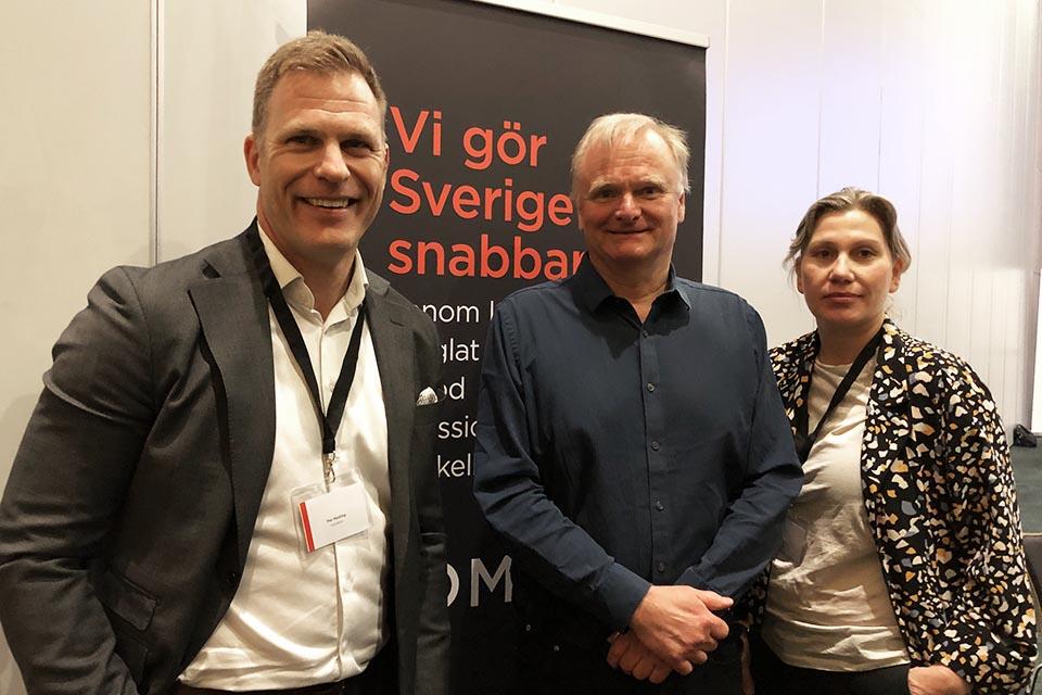 Per Neding, Bjarte Bogsnes och Helene Ljungh
