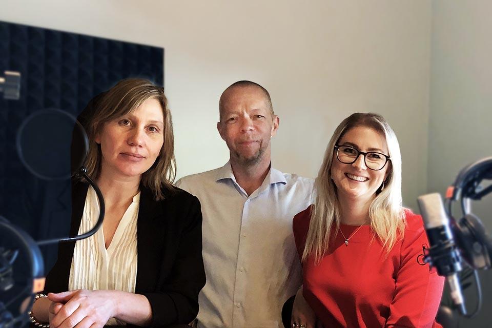 Helene Ljungh, Tommy Bäckman, Jenny Wikström