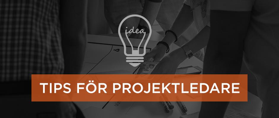 Tips för projektledare