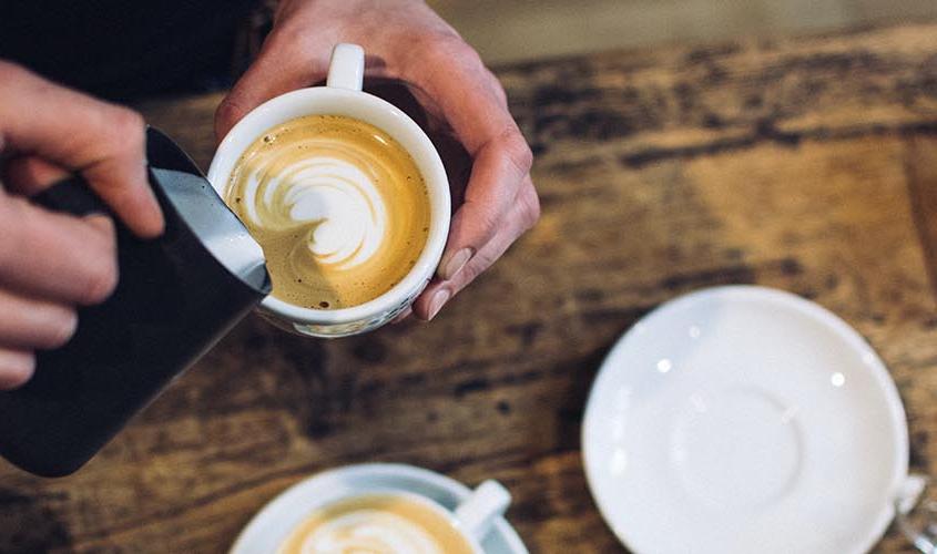 Kaffekoppen före första styrgruppsmötet